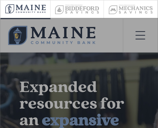 Maine Community Bank Bank With Integrity